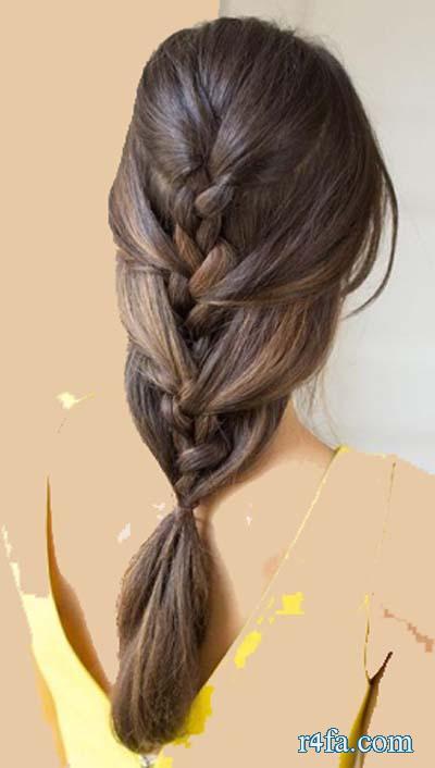بالصور تسريحات بنات , تسريحة شعر جميلة 2183 7