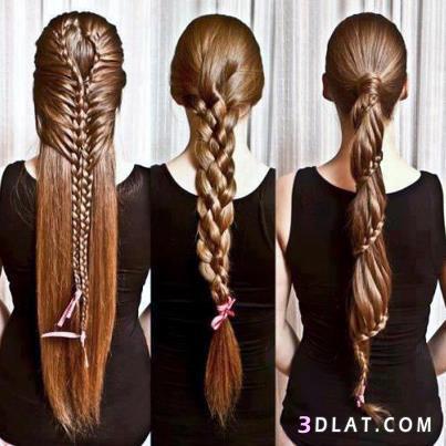 بالصور تسريحات بنات , تسريحة شعر جميلة 2183 8
