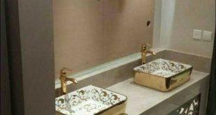 بالصور اشكال مغاسل رخام طبيعي اجمل المغاسل للحمامات الحديثة 2271 12 310x165
