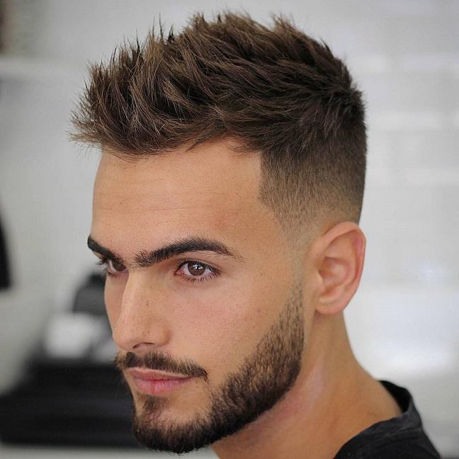 بالصور صور قصات شعر رجالي , اجدد موضة لقصات الشعر الرجالي 2626 3