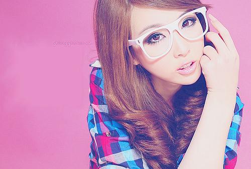 صوره بنات كوريات كيوت بالنظارات , صور صبايا من كوريا ستايل