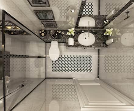 صورة تصميم حمامات , كتالوج ديزاين للحمام