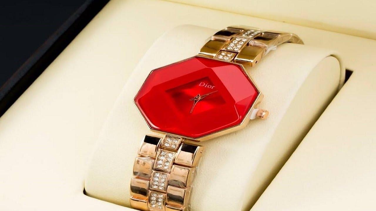 صورة ساعات حريمى , اجمل تشكيله اشكال لساعه نسائيه