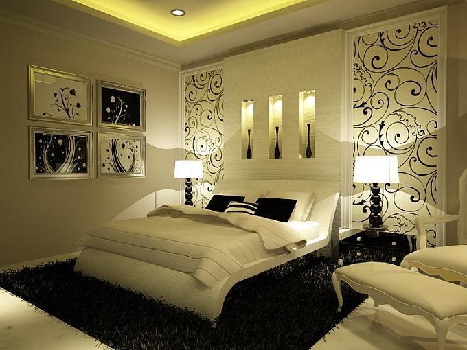 صورة اجمل غرف النوم , احدث ديكورات اوض للنوم