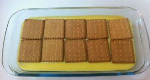 طريقة عمل الكاسترد بالبسكويت , ماهى خطوات اعداد حلى الكريمه