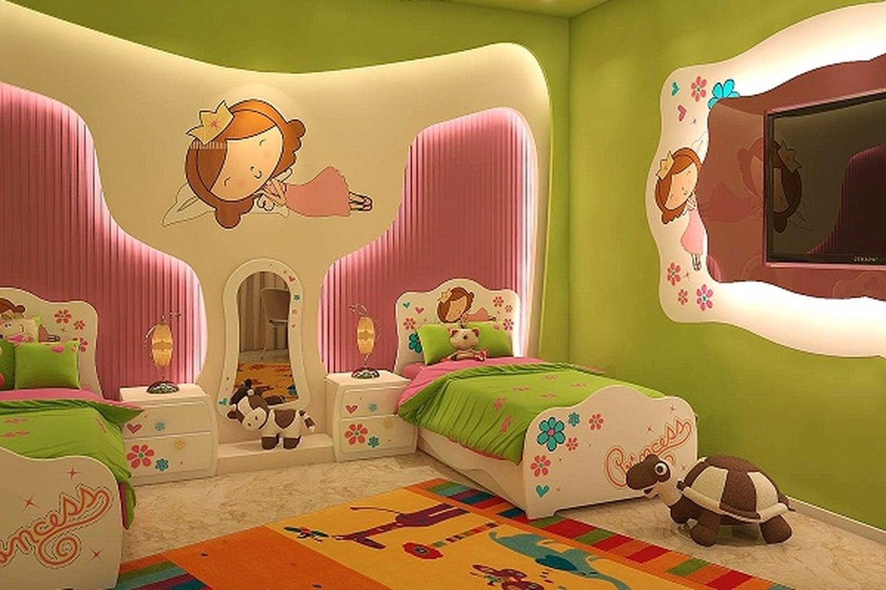 صورة صور غرف نوم اطفال , ديكور مودرن لاوض الصغار