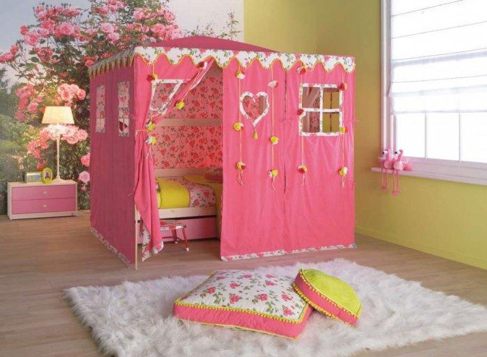صورة غرف نوم اطفال بنات , صور ديكورات لاوض صبايا مودرن