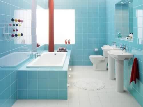 صورة ديكورات حمامات بسيطة , تصميمات راقيه جدا للتواليت