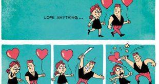 صوره صور مضحكة عن الحب , كاريكاتير لقطات رومانسيه فكاهيه