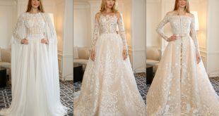 فساتين زفاف زهير مراد 2019 , اجمل وارقى الفساتين