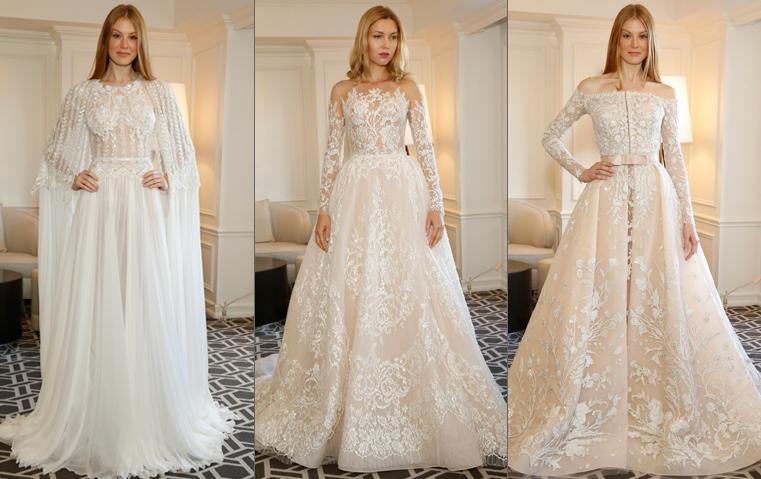 صور فساتين زفاف زهير مراد 2019 , اجمل وارقى الفساتين