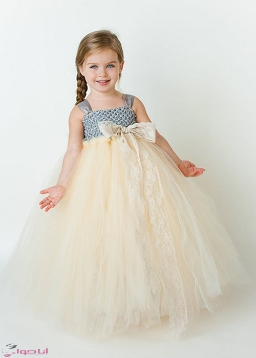 بالصور فساتين اطفال بنات , ما اجمل الملكات الصغيرة 3231 3