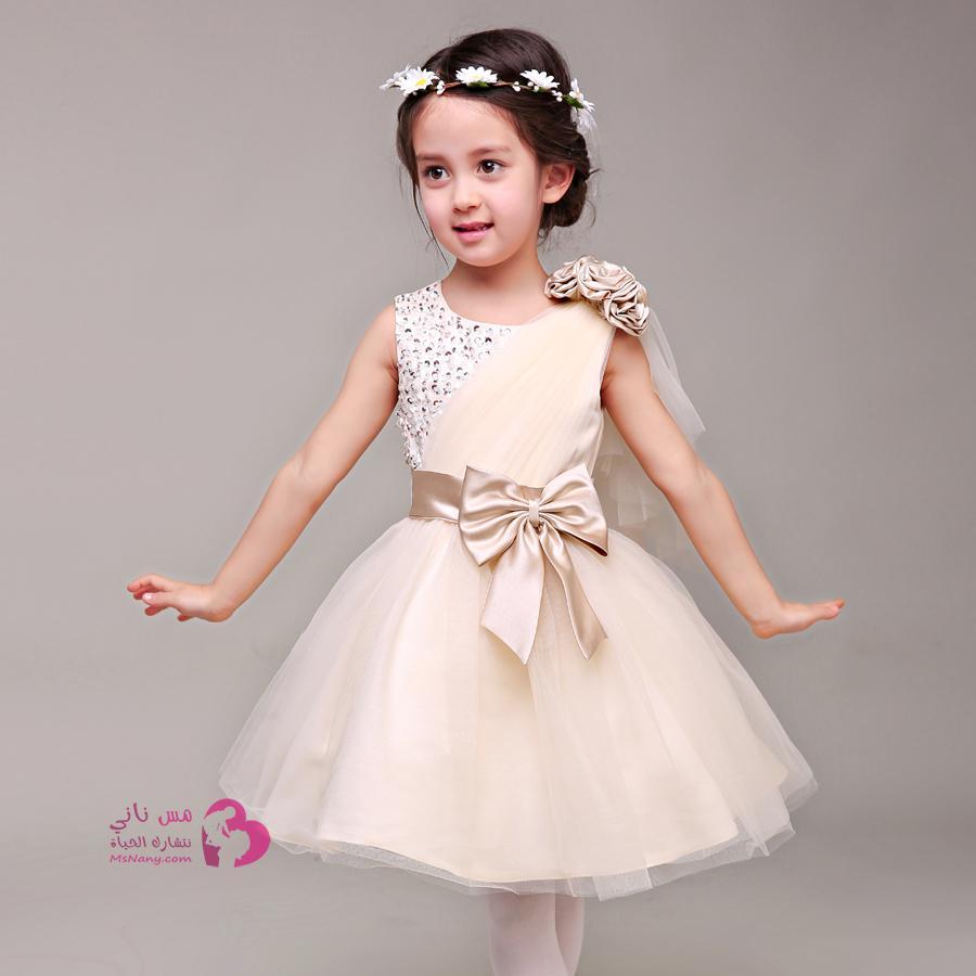 بالصور فساتين اطفال بنات , ما اجمل الملكات الصغيرة 3231
