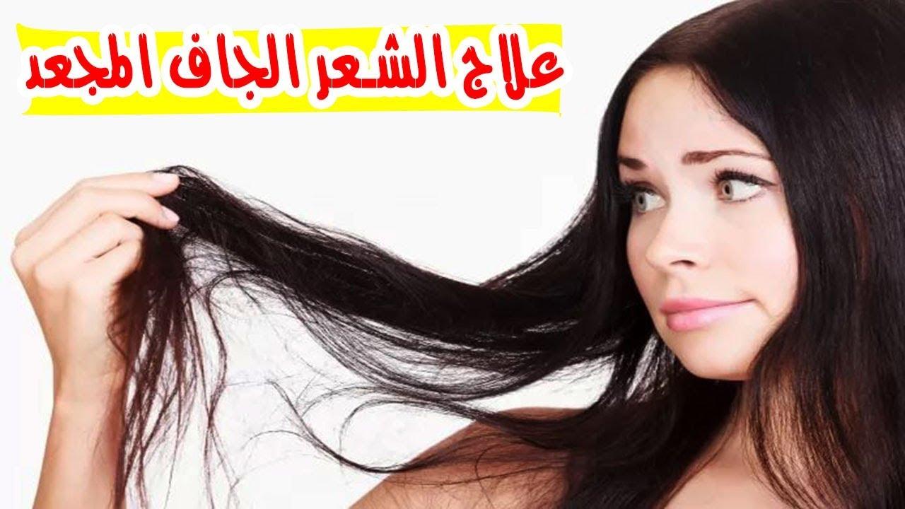 صور علاج الشعر الجاف , التعامل الصحيح مع الشعر الجاف المتقصف