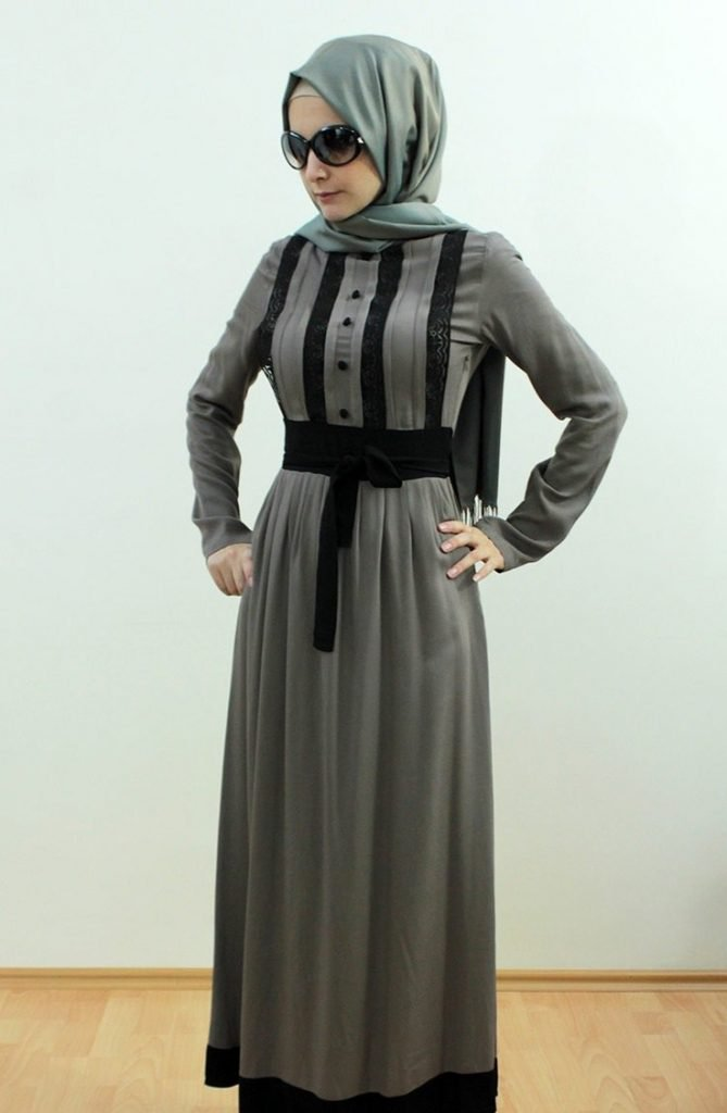 صورة ملابس تركية للمحجبات , اجمل لباس تركى