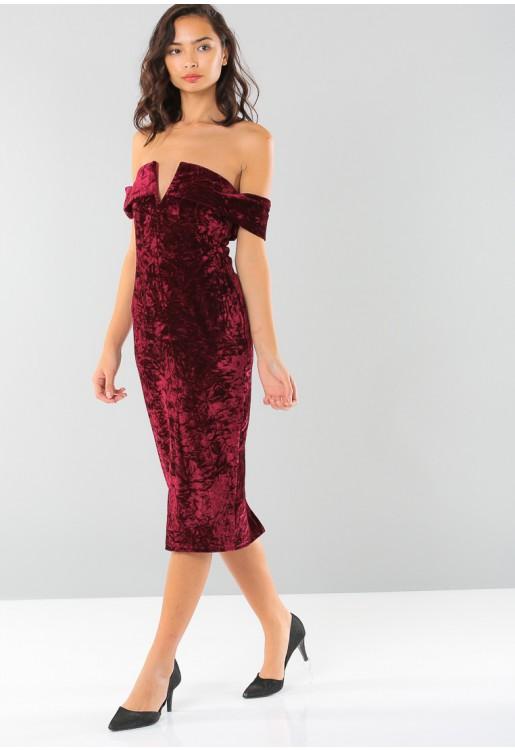بالصور فستان مخمل , اجمل فساتين شتوية ستراها 3823 5