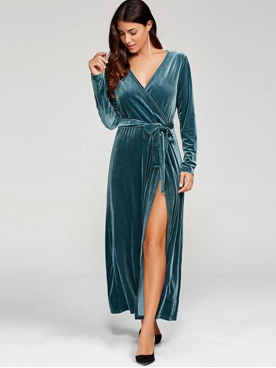 بالصور فستان مخمل , اجمل فساتين شتوية ستراها 3823 6