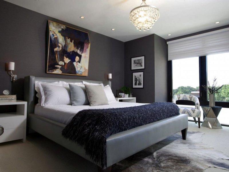 بالصور اجمل ديكورات غرف النوم , موضة الالوان في غرف النوم 2019 3852 10