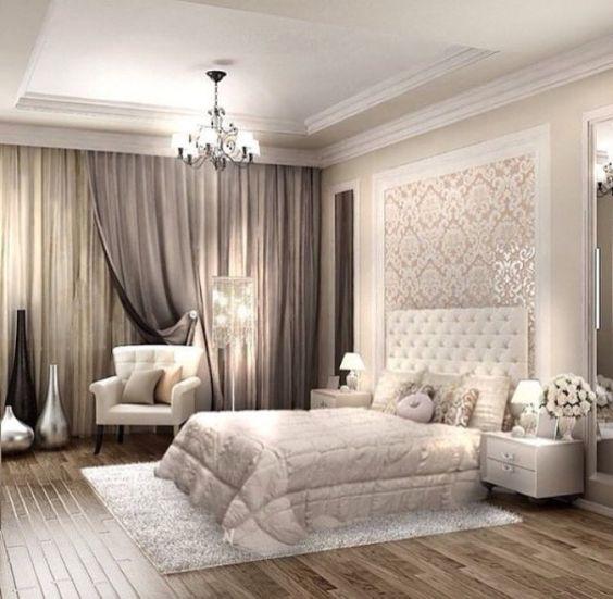 بالصور اجمل ديكورات غرف النوم , موضة الالوان في غرف النوم 2019 3852 6