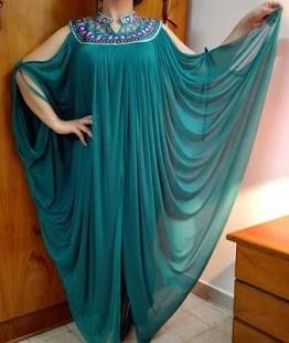 بالصور تفاصيل الدشاديش , احدث عبايات الموضة العراقية 3889 7