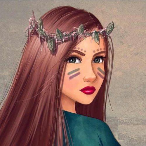 رسومات بنات جميلة اروع مجموعة رسومات بنات اقتباسات