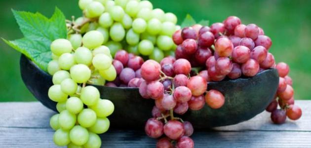صورة فوائد العنب , فوائد جمالية صحية للعنب
