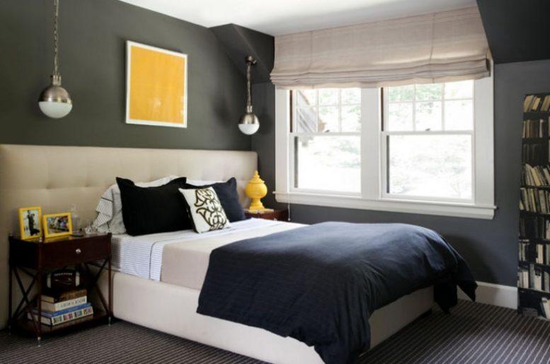 بالصور دهانات غرف نوم , غرف نوم بدهانات مميزه و متنوعة 4266 6