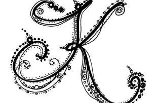 صوره صور حرف k , تصميمات حصرية حرف k