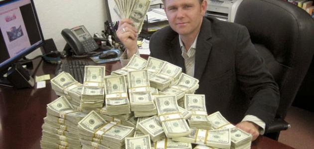 صوره كيف اصبح غني , اسهل الطرق لجمع المال