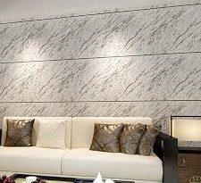 صورة ورق جدران رمادي , اجمل انواع ورق الجدران
