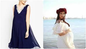 صورة فساتين سهرة للحوامل , ملابس مناسبات للمراة الحامل