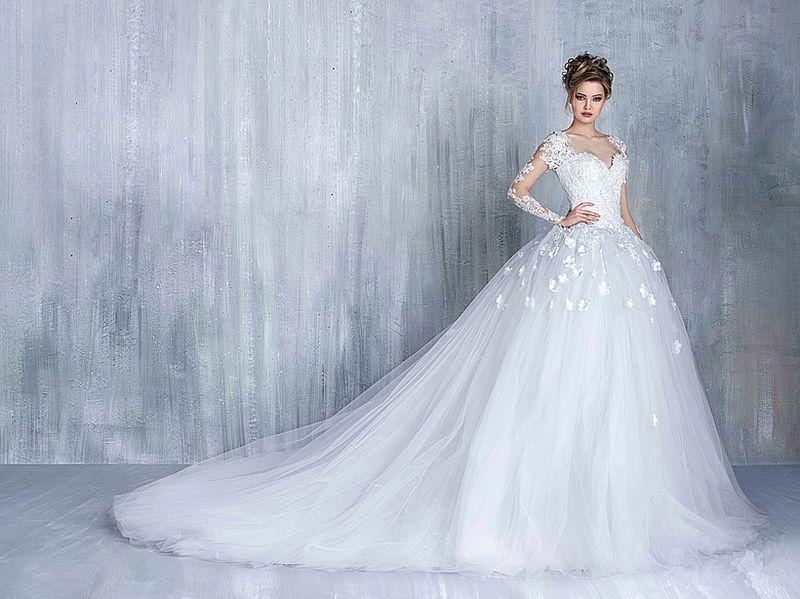 صور صور فساتين اعراس , اجمل فساتين الزفاف 2019