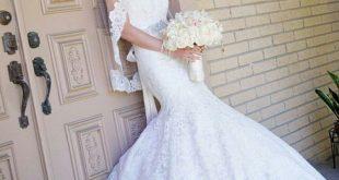 صوره صور فساتين اعراس , اجمل فساتين الزفاف 2019