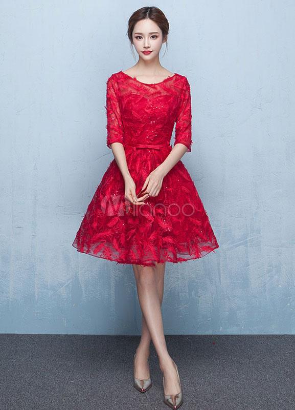 5970a097d فساتين سهرة قصيرة2019 , احدث موديلات الفساتين 2019 - كلمات جميلة