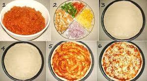 صوره طريقة عمل البيتزا بالصور خطوة خطوة , اسهل طريقة لعمل البيتزا