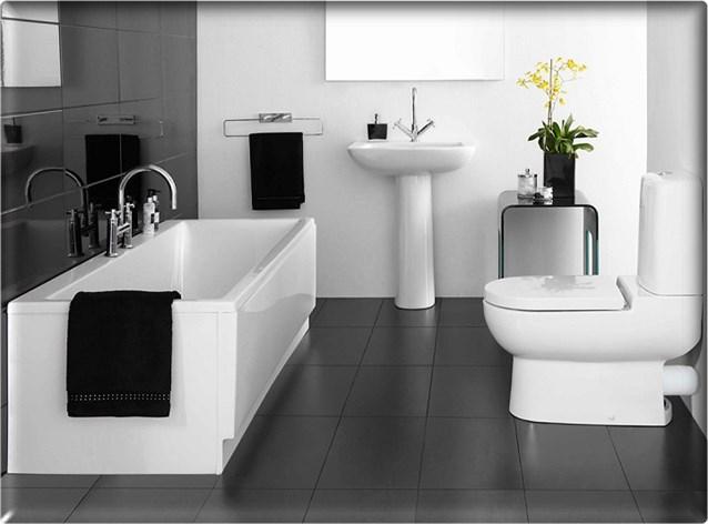 صورة ديكورات حمامات صغيرة جدا وبسيطة , ديكورات رائعه لحمامات مساحتها صغيره 4510 1
