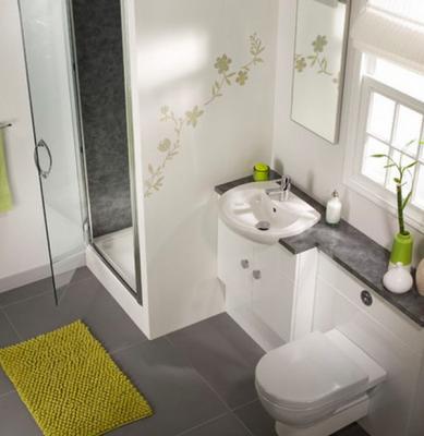 بالصور ديكورات حمامات صغيرة جدا وبسيطة , ديكورات رائعه لحمامات مساحتها صغيره 4510 10