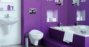 ديكورات حمامات صغيرة جدا وبسيطة , ديكورات رائعه لحمامات مساحتها صغيره