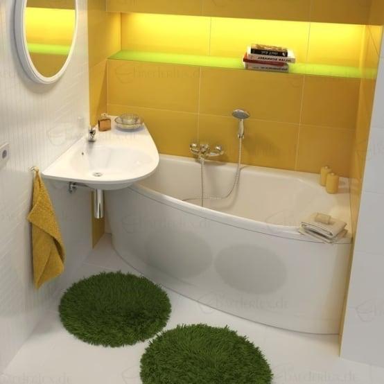 صورة ديكورات حمامات صغيرة جدا وبسيطة , ديكورات رائعه لحمامات مساحتها صغيره 4510 7