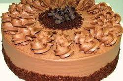 صوره كريمة الشوكولاته لتزيين الكيك , يا جمال طعم الشوكولاته