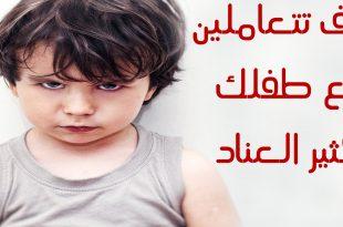 بالصور كيفية التعامل مع الطفل العنيد , معالجه التصرف العنيد للطفل 5005 3 310x205