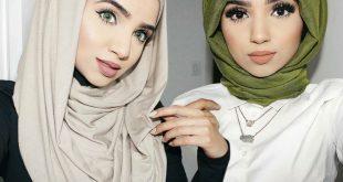 صور طرق لف الحجاب , لفات طرحة جديدة