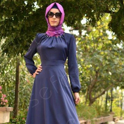 بالصور حجابات عصرية , لفة طرحة جديدة 6215 11