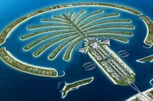 صوره اكبر جزيرة صناعية في العالم , جزيرة النخلة العالمية بدبي