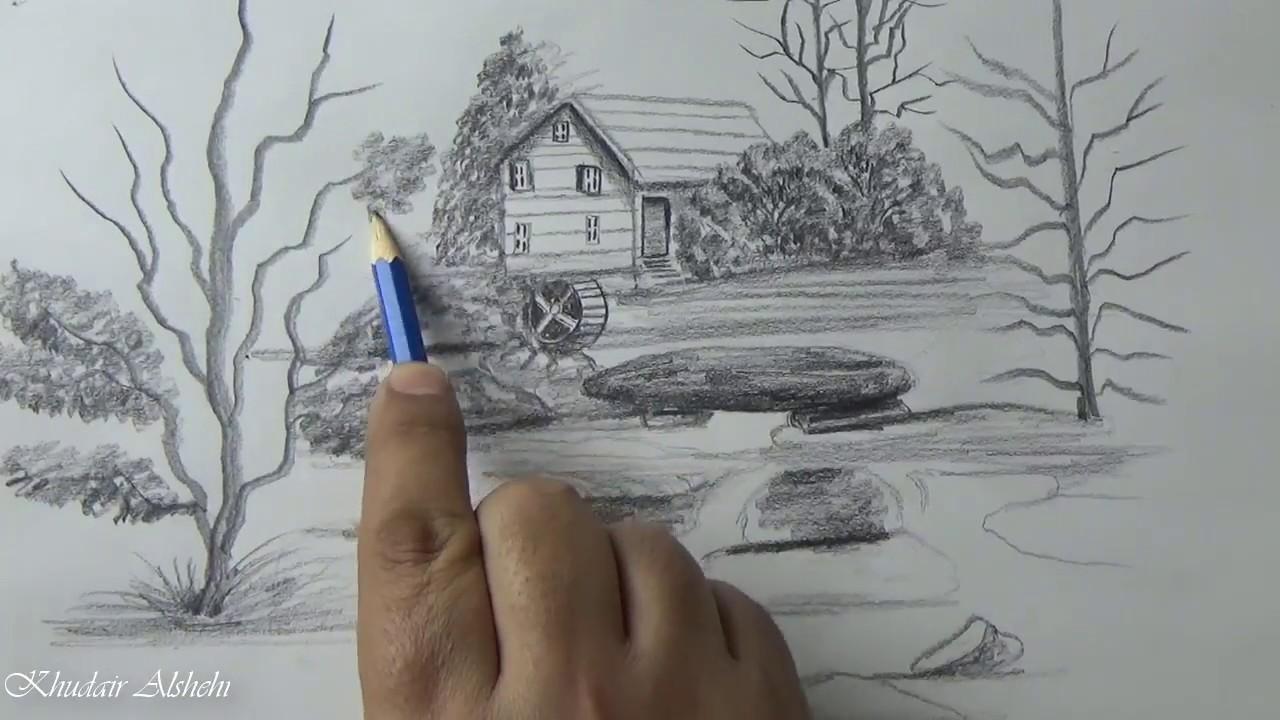 بالصور رسومات بالرصاص , اجمل تشكيله للرسم بالقلم الرصاص 4964 9