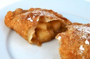 صوره طريقة عمل فطيرة التفاح , اشهى الحلويات فطيرة التفاح بالطريقه