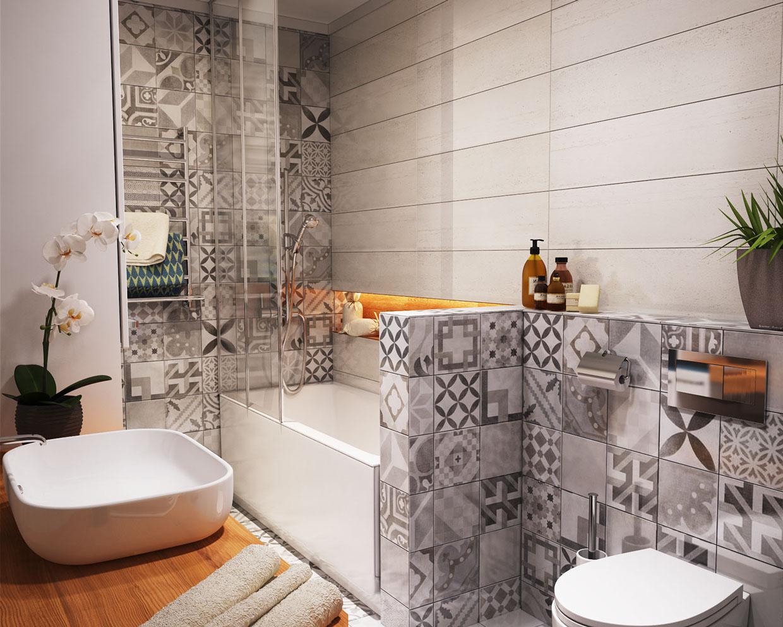 بالصور ديكور حمامات صغيرة , اجمل اشكال حمامات صغيرة الحجم لمنزل عروس 5066 12