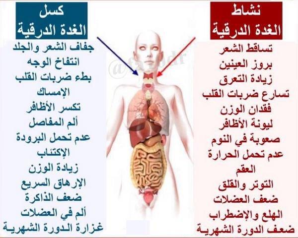 صورة اعراض الغدة الدرقية , كيف تعرف الشخص المصاب بالغده الدرقيه