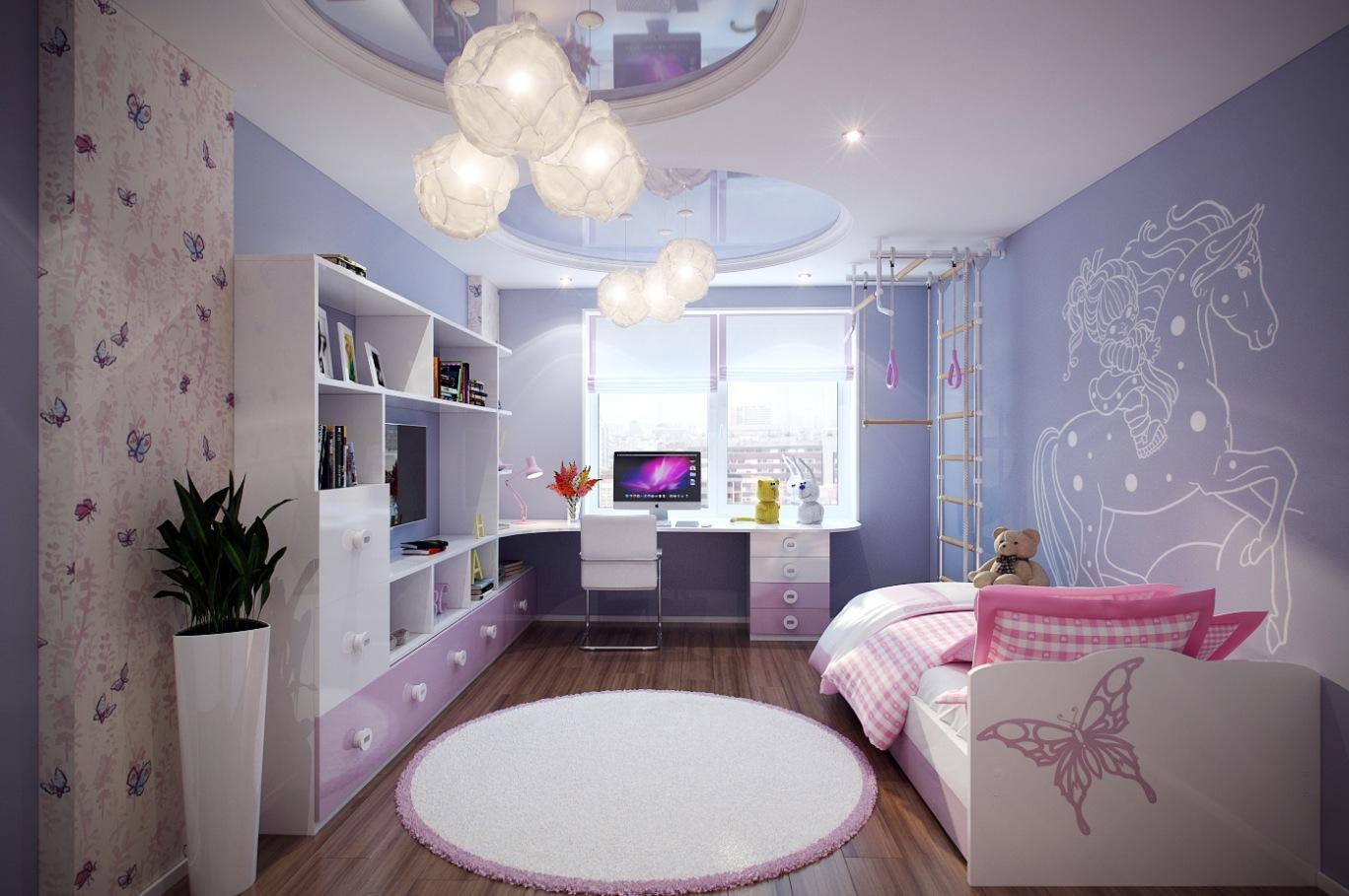 بالصور غرف بنات كبار , غرف نوم عصريه لبنات كبار