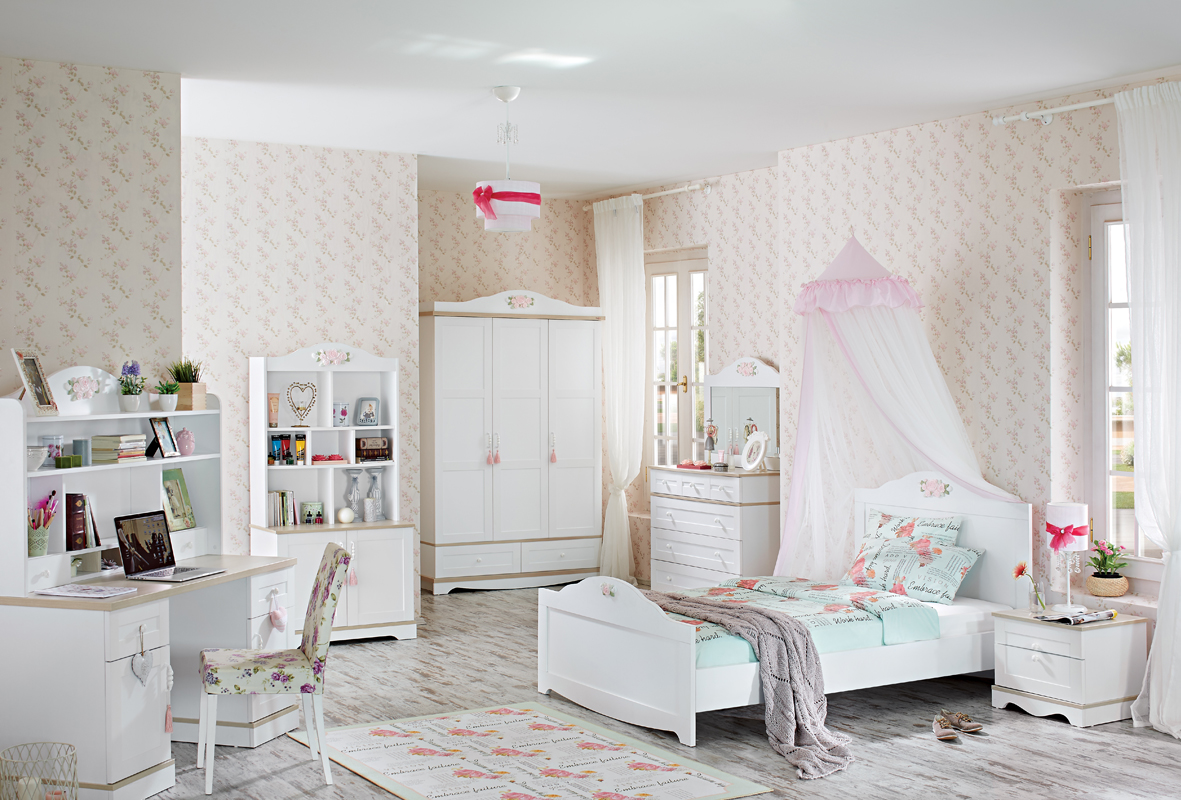 بالصور غرف بنات كبار , غرف نوم عصريه لبنات كبار 5127 16